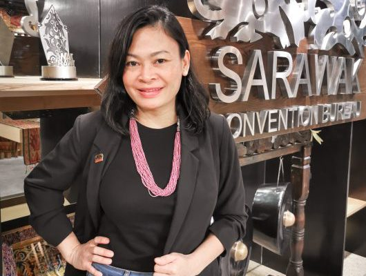 Business Events Sarawak's Chief Operating Officer, Amelia Roziman.